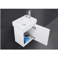 Unterschrank für Geberit iCon xs 38 cm Waschbecken, komplett vormontiert