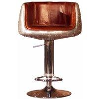 Grande Aviator Vintage Distressed Leather Barstool