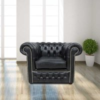 Chesterfield Winchester Low Back Club ArmChair Old English…