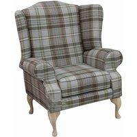 Slate Chesterfield Fredrick High Back Armchair   DesignerSofas4U