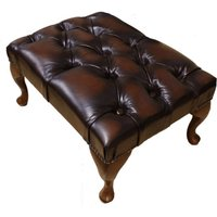 Chesterfield Stamford Footstool UK Manufactured Leather…