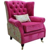 Sherlock Wing Chair Fireside High Back Armchair Danza…