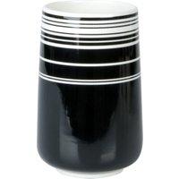 Deze vaas contrast van present time (pt,) is gemaakt van porcelein en past in elk interieur. de vaas contrast ...