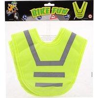 Junior bike fun reflectie vest, val extra goed op in het donker door dit bike fun reflectie vest. door de ...