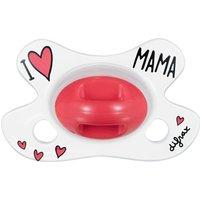 De difrax i love mama fopspeen natural newborn voldoet aan de zuigbehoefte van je baby. deze natural i love ...