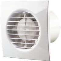 Ventilatierooster met ventilator. diameter: 100 mm, breedte: 150 mm. maximale airflow capaciteit: 85m3/u. ...
