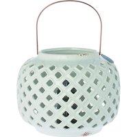 Windlicht valletta is een pareltje in huis. de windlichten zijn gemaakt van aardewerk en metaal en hebben een ...