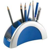 Durable pennenbakje met 5 vakken zilverkleurig. dit mooie zilverkleurige pennenbakje van durable is ...
