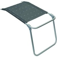 Het frame heeft lichte krassen.compact inklapbare aluminium voetensteun met textileen bekleding. ideaal voor ...