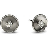 0.10ct. 4 Prong Setting Round Diamond Delicate Earrings