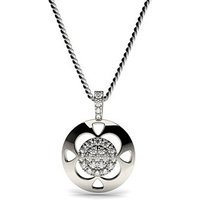 0.25ct. Prong Setting Round Diamond Delicate Pendant