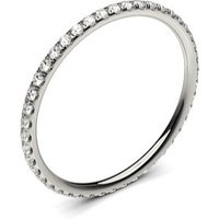 Illusion Setting Full Eternity Diamond Ring