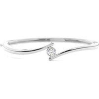 Bangles Diamond Bracelet inWhite Gold with 0.35ct H-I I1