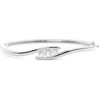 Bangles Diamond Bracelet inWhite Gold with 0.75ct H-I I1