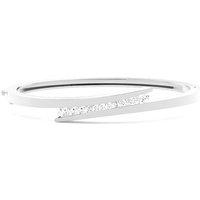 Bangles Diamond Bracelet inWhite Gold with 0.70ct H-I I1