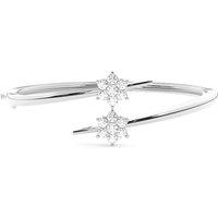 Bangles Diamond Bracelet inWhite Gold with 1.00ct H-I I1
