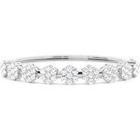 Bangles Diamond Bracelet inWhite Gold with 3.80ct H-I I1