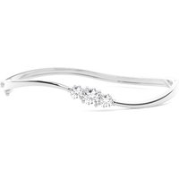 Bangles Diamond Bracelet in White Gold with 1.15ct H-I I1