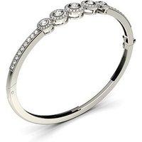 Bangles Diamond Bracelet inWhite Gold with 1.30ct H-I I1