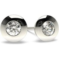 Stud Diamond EarringsWhite Gold with 0.20ct H I1