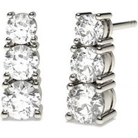 Journey Earrings Diamond Earrings White Gold with 0.50ct H-I I1