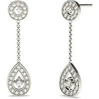 Drop Earrings Diamond Earrings White Gold with 0.25ct H-I I1