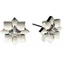 Delicate Diamond Earrings White Gold with 0.15ct H-I I1