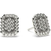 Cluster Diamond Earrings White Gold with 0.50ct H-I I1