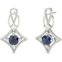 Diamond EarringsWhite Gold with