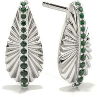 Designer Earrings in Pave Setting with 0.1000 ct. wt