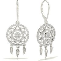 Diamond Designer Earrings in Pave Setting with 0.6100 ct. wt