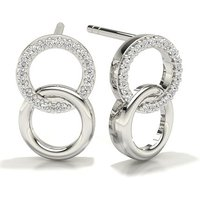 Diamond Designer Earrings in Pave Setting with 0.1000 ct. wt