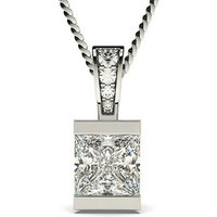 Bar Setting Solitaire Pendant
