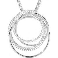 Designer Pendants Diamond Pendant NecklaceWhite Gold with H-I I1