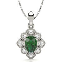 Designer Pendant in Prong Setting with 0.7500 ct. wt