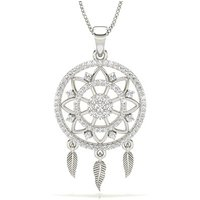 Diamond Designer Pendant in Pave Setting with 0.4300 ct.wt