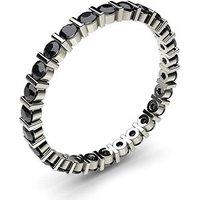 Black Diamond Diamond RingWhite Gold