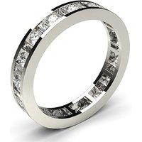 Diamond Full Eternity RingWhite Gold H-I SI
