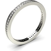 Diamond Full Eternity Ring White Gold H-I I1