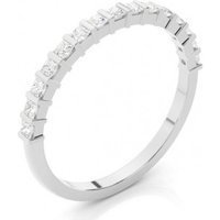 Diamond Half Eternity Ring White Gold 0.30ct H-I I1