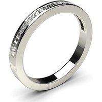 Diamond Half Eternity Ring White Gold 0.25ct H-I SI