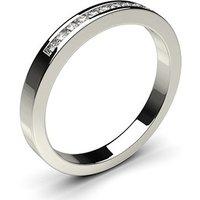 Diamond Half Eternity Ring White Gold 0.15ct H-I I1