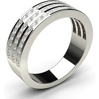 Diamond Half Eternity RingWhite Gold 1.25ct H-I I1