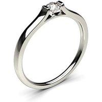 Channel Setting Plain Engagement Ring