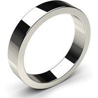 Plain Wedding Ring White Gold in 1.7mm