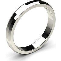 Plain WeddingRingWhite Gold in 1.7mm