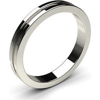 Wedding Ring White Gold in 1.7mm