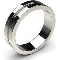 Wedding Ring White Gold in 1.7mm