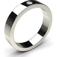 Diamond WeddingRingWhite Gold in 1.7mm