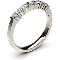 Seven Stone Diamond RingWhite Gold 0.30ct H-I I1